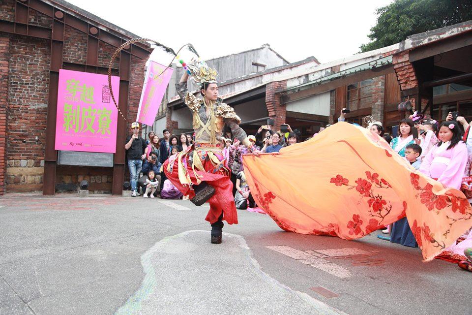 吳亮儀 穿越東方妝藝大遊行現場照片